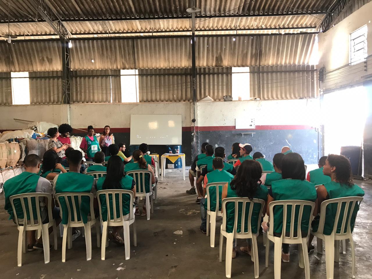 Capacitação-Recicla-Jabaquara-Cooperativa-Sempre-Verde Escolas se mobilizam para arrecadar mais de 10 toneladas de materiais recicláveis no Jabaquara