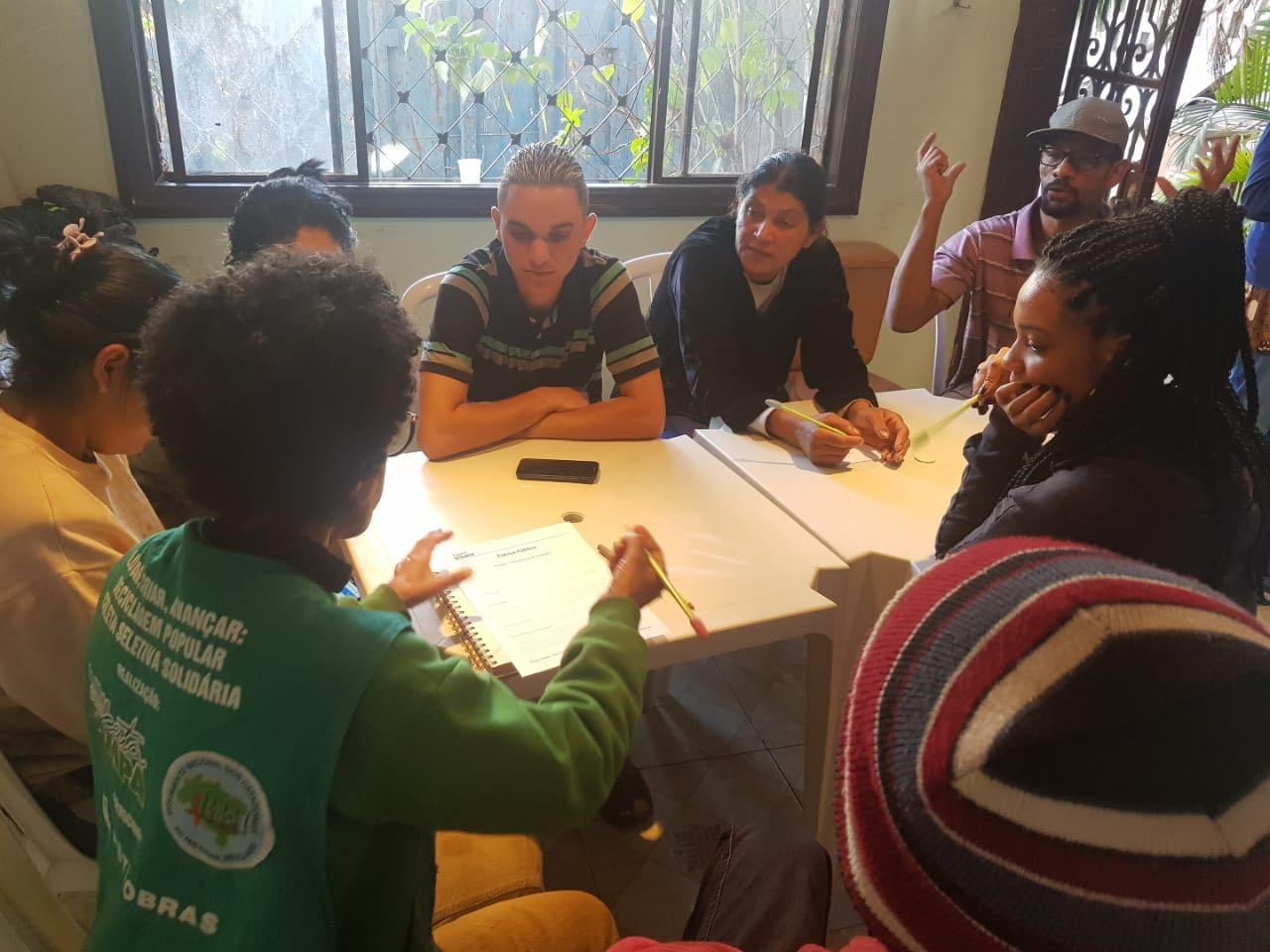 Capacitação-Recicla-Jabaquara_Cooperativa-Sempre-Verde Escolas se mobilizam para arrecadar mais de 10 toneladas de materiais recicláveis no Jabaquara